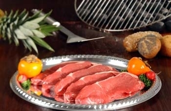 Entrecote rundvlees barbecue